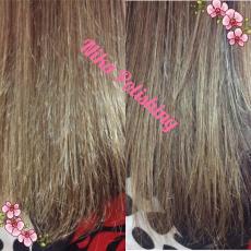 Комплексная процедура полировки волос