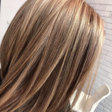 Окрашивание волос, Ольга Мамаева