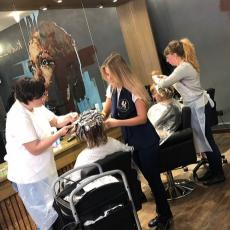 Обучение парикмахеров-стилистов с нуля, Kudri-Brovi