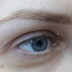 Перманентный макияж бровей, Акварель