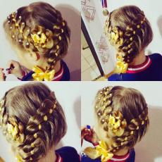 Плетение кос для девочек, Silissimo