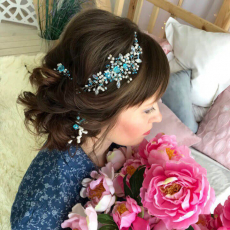 Прически свадебные, вечерние, Асия Саетгараева