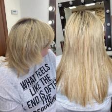 Наращивание волос, Комильфо