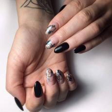 Дизайн ногтей, Trava