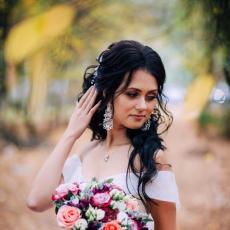 Свадебные прически, Асия Саетгараева