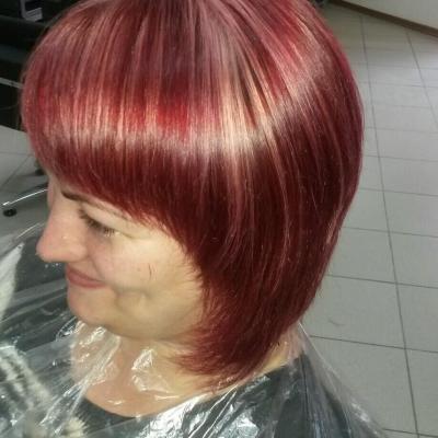Бриолин, парикмахерская