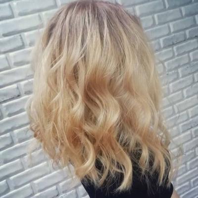 Окрашивание волос (Александра Шульгина)