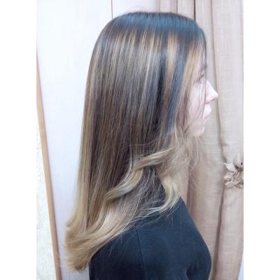 Окрашивание волос, Эльмира Тимшанова